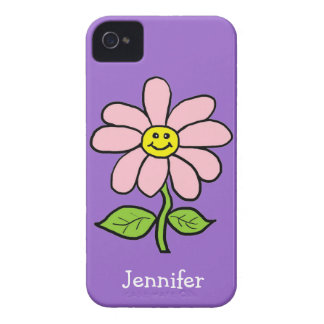 Sweet Smiling Daisy iPhone 4 Cover