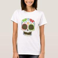 Sweet Smiling Skull T-Shirt