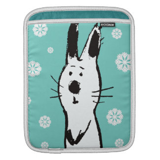 Sweet Snow Rabbit iPad Sleeve
