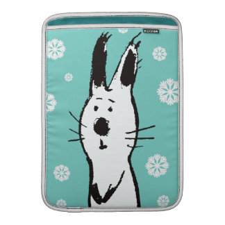 Sweet Snow Rabbit MacBook Air Sleeve