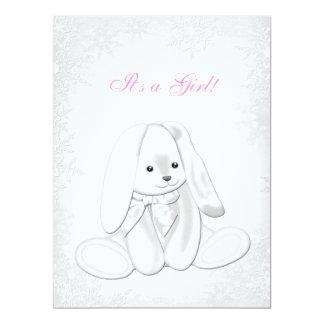 Sweet Snowflake Winter Wonderland Baby Shower Card