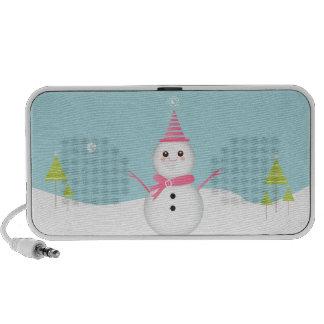 Sweet Snowman - Doodle Speaker