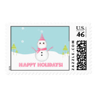 Sweet Snowman - Postage
