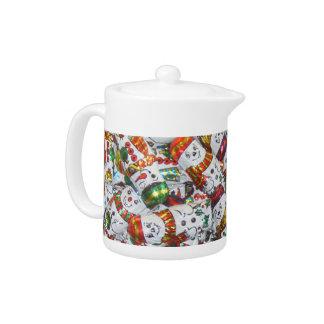 Sweet Snowmen teapot