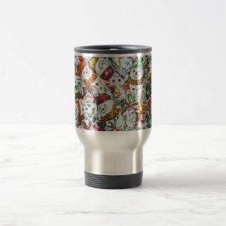 Sweet Snowmen travel mug