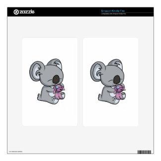 Sweet Snuggles! Koala Decal For Kindle Fire