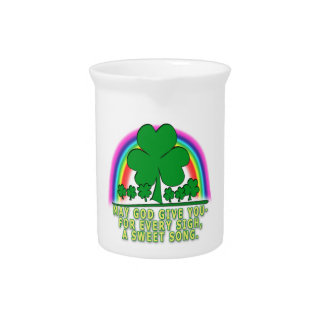 SWEET SONG - IRISH BLESSING PITCHERS