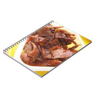 Sweet & Sour Dried Ham [Muu Wan] Notebook