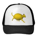 Sweet-Sour Lemon Cat Mesh Hat