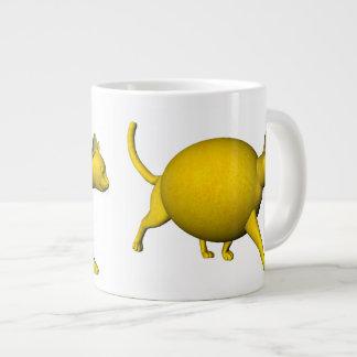 Sweet-Sour Lemon Cat Jumbo Mug