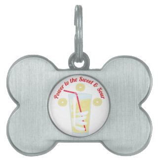 Sweet & Sour Pet ID Tag