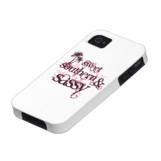 Sweet, Southern and Sassy Case-Mate iPhone 4 Cover