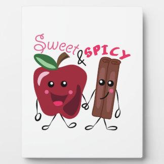 Sweet & Spicy Display Plaque