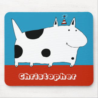 Sweet Spotted Dog Mousepad
