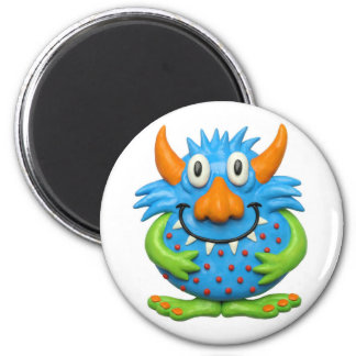 Sweet Spotted Monster 2 Inch Round Magnet