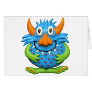 Sweet Spotted Monster Greeting Cards