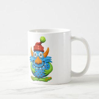 Sweet Spotted Monster Christmas Coffee Mug