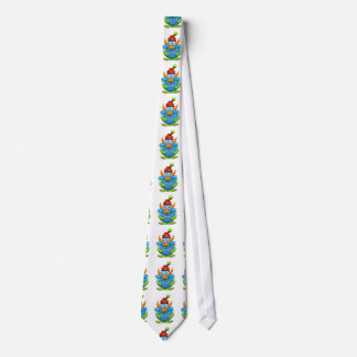 Sweet Spotted Monster Christmas Neck Tie