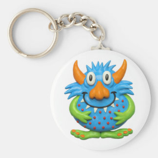 Sweet Spotted Monster Keychain