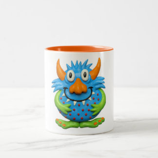 Sweet Spotted Monster Two-Tone Coffee Mug