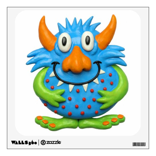 Sweet Spotted Monster Wall Decal
