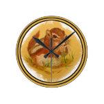 Sweet Squirrel Clock