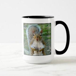 Sweet Squirrel Face Mug
