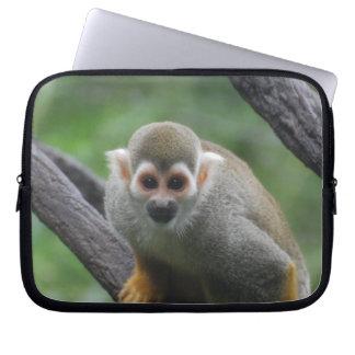 Sweet Squirrel Monkey Laptop Computer Sleeve