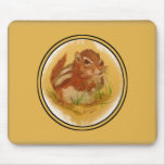 Sweet Squirrel Mouse Pad