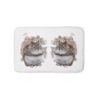 Sweet Squirrels Animal Bath Mats