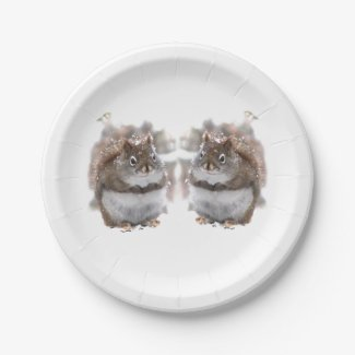 Sweet Squirrels  Paper Plates