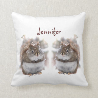 Sweet Squirrels Pillow