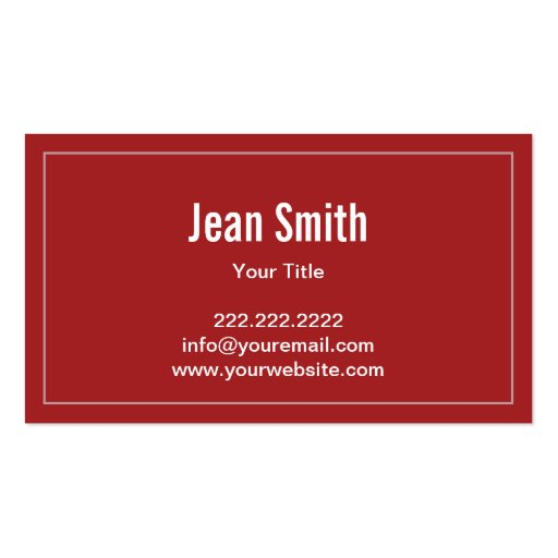 Sweet Star Patterns Candy Store Business Card (back side)