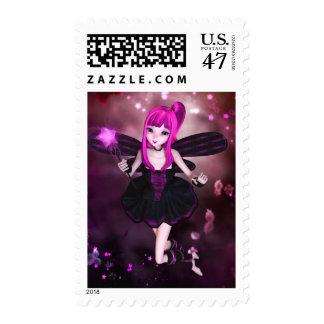 Sweet Starry Swirls Postage