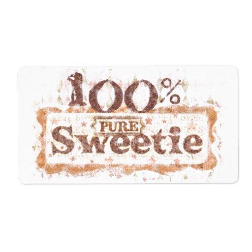 Sweet Sticker / Labels