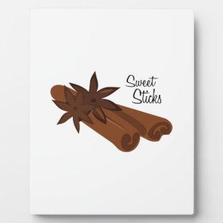 Sweet Sticks Photo Plaques