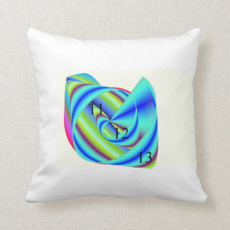 Sweet Sticky Rainbow Throw Pillow