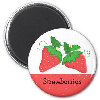 Sweet  Strawberries Magnet
