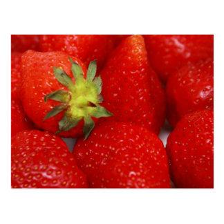 Sweet Strawberries Postcard