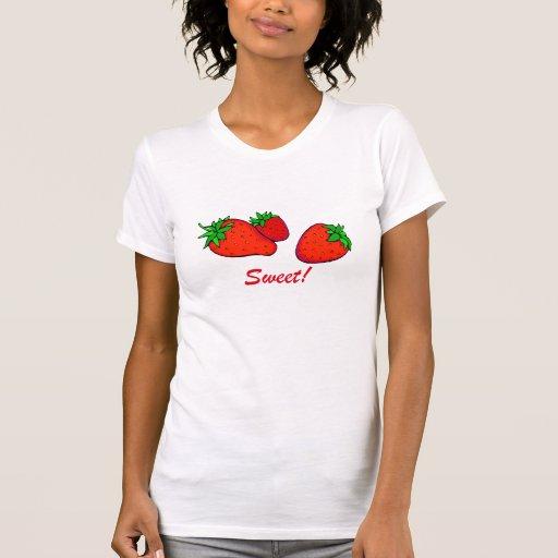 Sweet strawberries tanktops