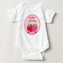 Sweet Strawberry Baby T-Shirt