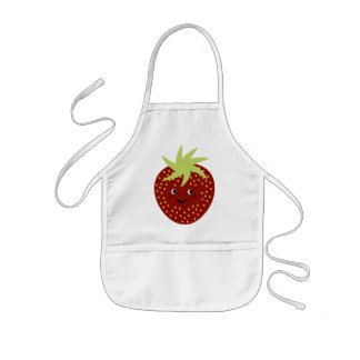 Sweet Strawberry Kids' Apron