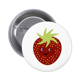 Sweet Strawberry Pinback Button