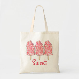 Sweet Strawberry Pink Eclair Pops Popsicles Bag