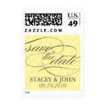 Sweet Stripes Save the Date Postage