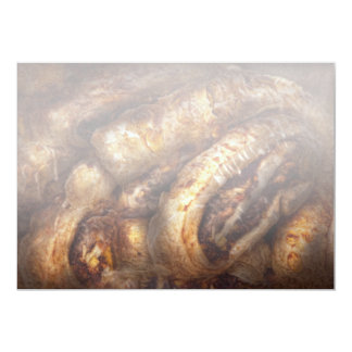 Sweet - Strudel - Almond Strudel Abstract Card
