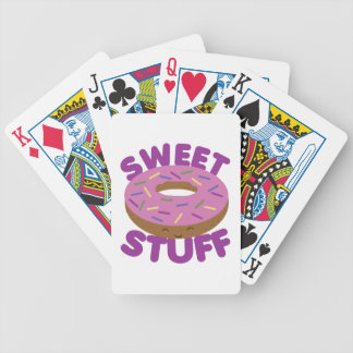 Sweet Stuff Bicycle Playing Cards