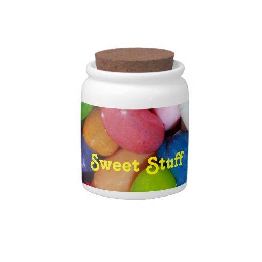 """Sweet Stuff"" Candy Jar"