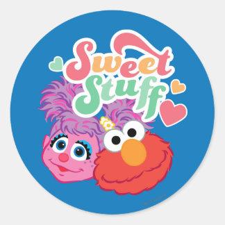 Sweet Stuff Character Classic Round Sticker