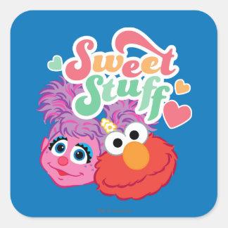 Sweet Stuff Character Square Sticker